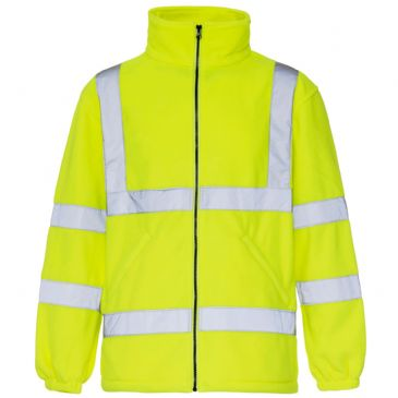 SuperTouch Yellow Hi Vis Fleece Jacket 3804